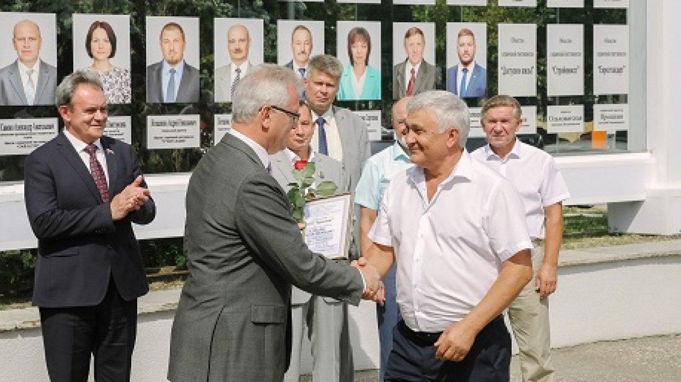 Поздравление с днем строителей губернатором области