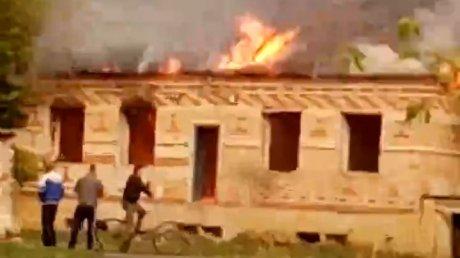 Контору спалили: в Каменском районе произошел пожар