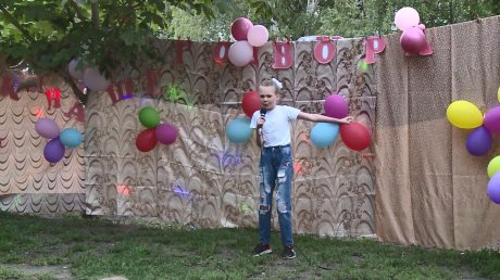 На улице Пушанина жители устроили праздник двора