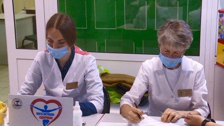 Пензенцы сдали тесты ГТО и проверили здоровье
