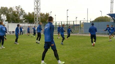 Футболисты «Зенита» готовятся к встрече с брянским «Динамо»