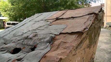 Жители боятся разрушения пристроя к дому на Октябрьской, 6