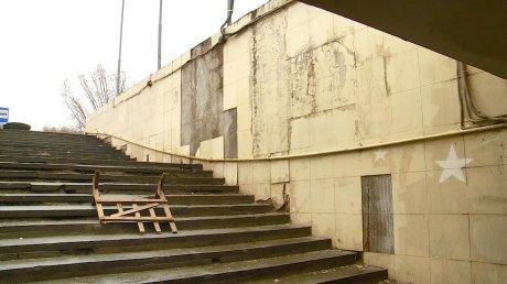 Подземный переход на проспекте Победы грозит людям травмами
