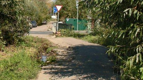 Дорога на ул. Пугачева непригодна для проезда машин спецслужб