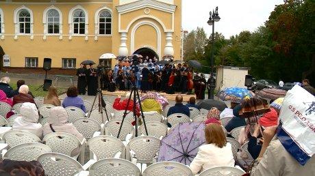 На Соборной площади прозвучали стихи и песни об Александре Невском