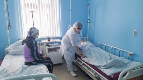 В Нижнем Ломове отремонтировали одно из отделений больницы