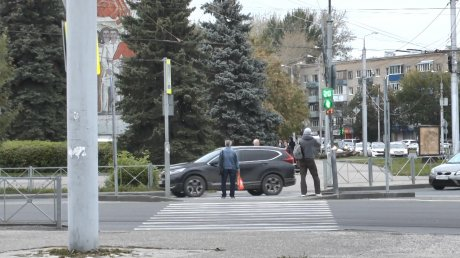 С начала года в Пензе 142 пешехода пострадали в ДТП