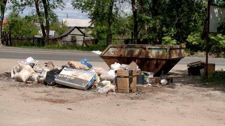 Остановка на Барковке стала жертвой нечистоплотных граждан