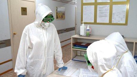 В Пензе ковидарий в детской больнице заполнен маленькими пациентами