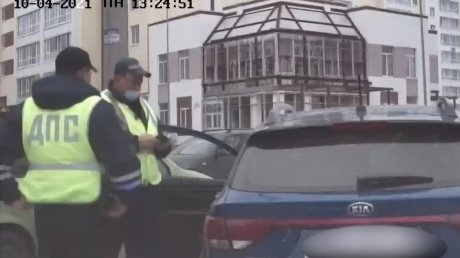 В Пензе сотрудники ДПС остановили машину с пьяной женщиной