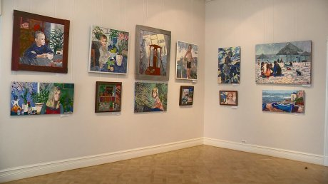 В Пензе открылась выставка работ самарской художницы