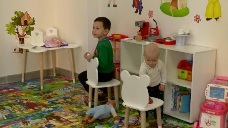 В Пензе при соборе открыли развивающую школу для малышей
