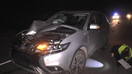 Появились кадры с места смертельного ДТП в Мокшанском районе