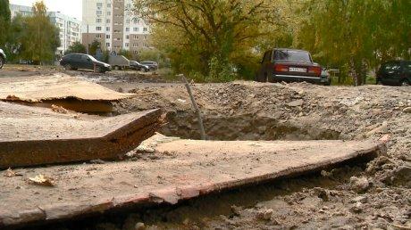 Открытый люк на ул. Терновского угрожает безопасности людей